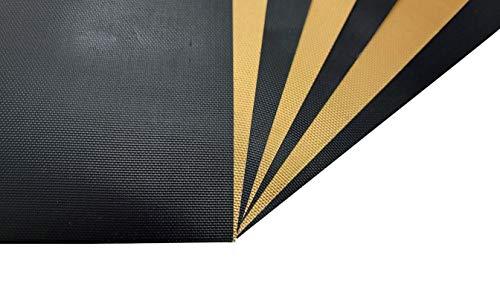 Tebewo 8 Backmatten, wiederverwendbar, Dauerbackfolie mit Teflon-Antihaftbeschichtung, 40 x 33cm, 2 Farben, Backfolie für Backofen und Mikrowelle, reißfest (8)