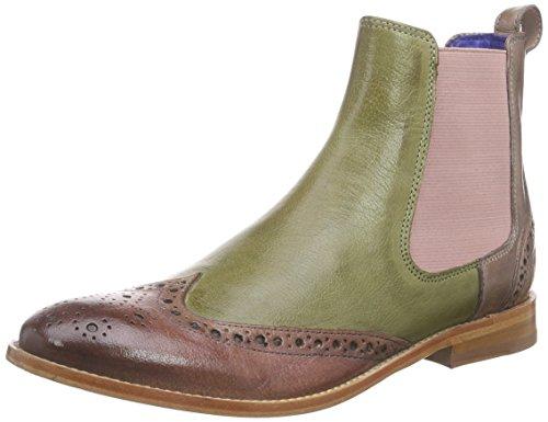 Melvin & Hamilton Damen Amelie 5 Chelsea Boots, Mehrfarbig (Classic Rose, Mint Green, Lila, Cappu,...