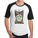 GaryCColeman Claypool Lennon Delirium Men's Raglan T-Shirt Crewneck Baseball T Shirt Black