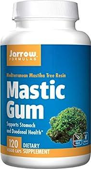 Jarrow Formulas Mastic Gum 120 VCAPS  500 MG   Pack of 2
