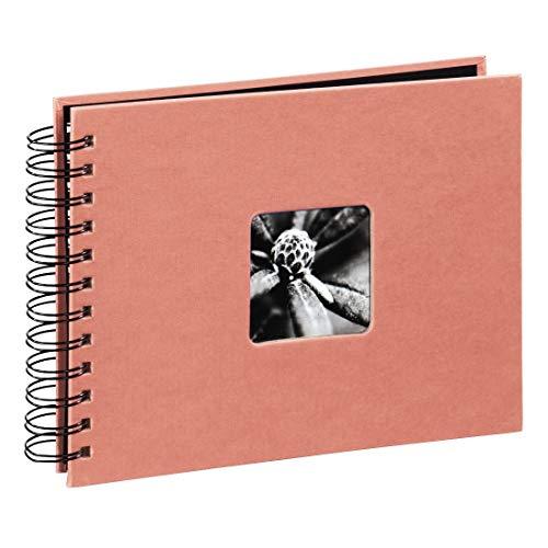 Hama Fine Art fotoalbum koraal papier - fotoalbums (koraal, papier, 100 vellen, 10 x 15 cm, 50 vellen, 1 stuk())