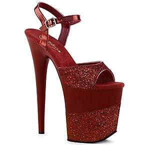 Pleaser Women's Flamingo-809-2G Ankle-Strap Sandal