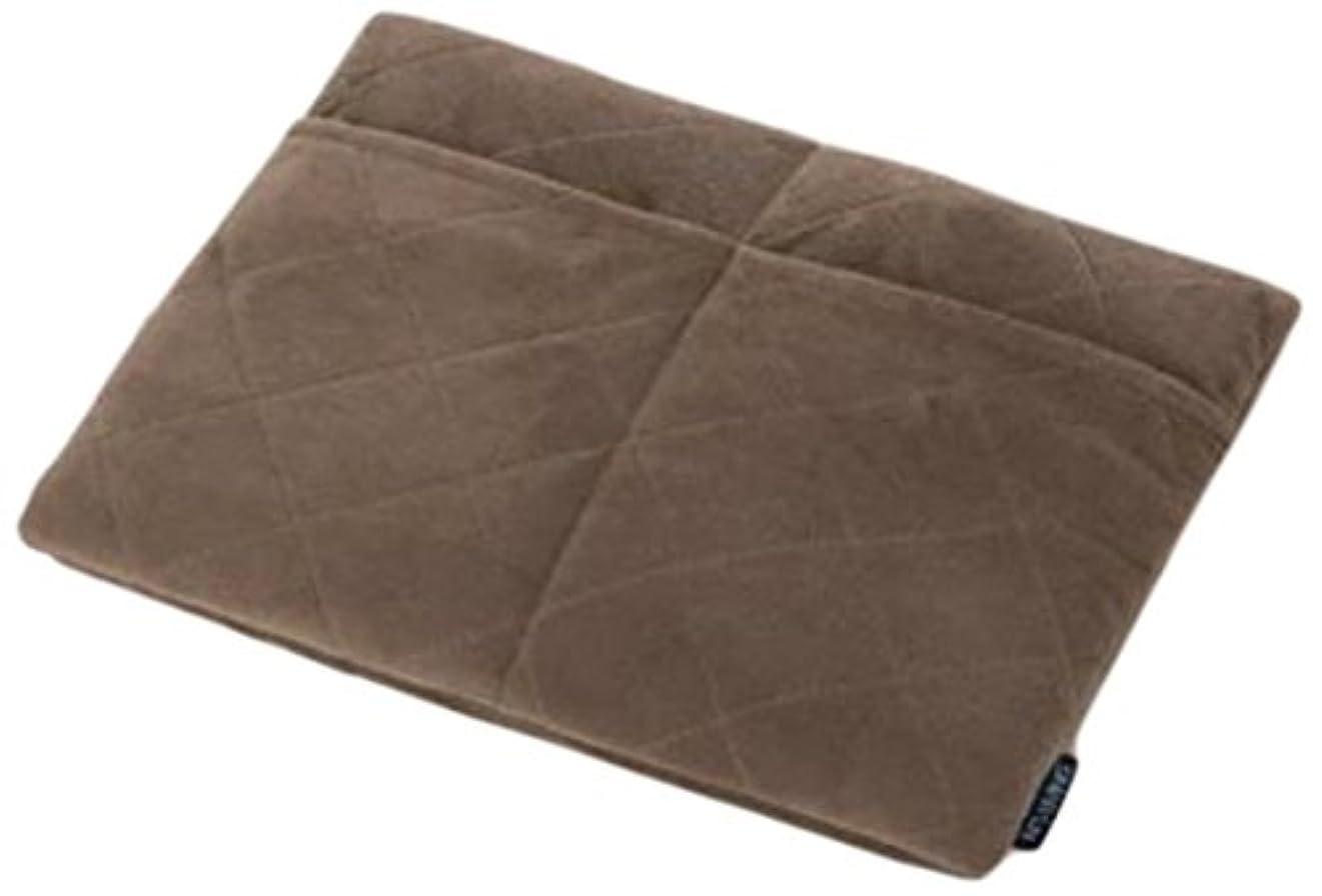 ストラトフォードオンエイボン返還言い訳サンファミリー アルミの暖力 足ポケット付き低反発マット ブラウン マルチ 3×35×44 0