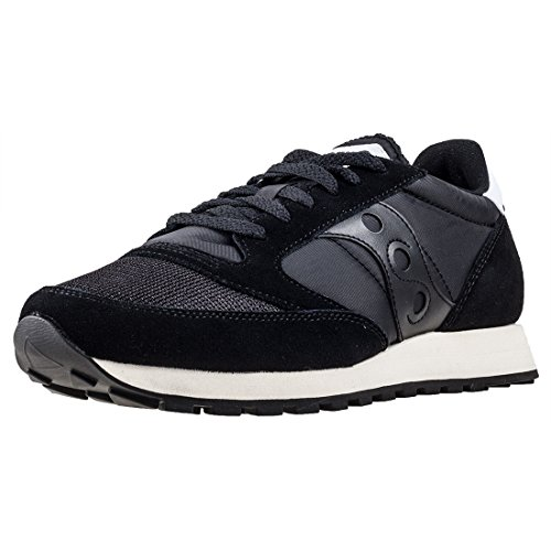Saucony Jazz Original Vintage, Zapatillas de Cross Unisex Adulto, Negro (Black/Black 9), 46.5 EU