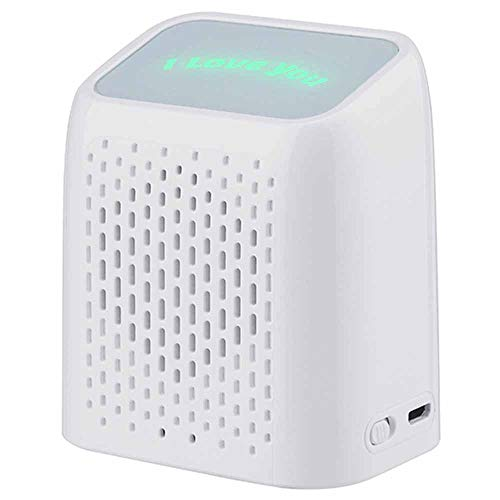 LMJ Outsider Mini-Lautsprecher, kreative Geschenk-Lautsprecher, Subwoofer Ultra-Portable Bluetooth-Lautsprecher einfaches Design, perfekte Mini-Lautsprecher - wiederaufladbar