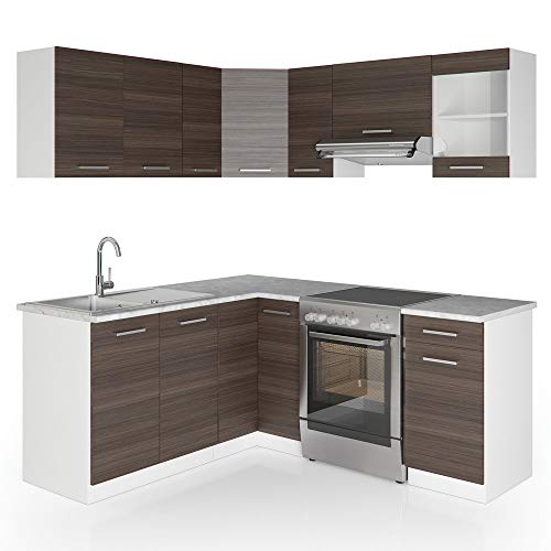 Vicco Rick L-Form Küchenzeile Bild