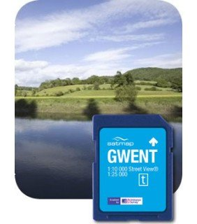 Satmap GPS System Karte 1:25000 Großbritannien: Gwent