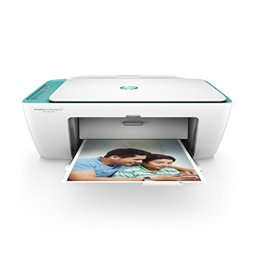 HP DeskJet 2677 All-in-One Printer (White) with Voice-Activated...