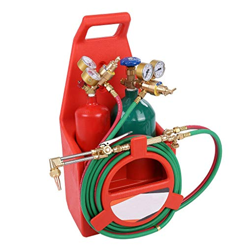 Professional Portable Oxygen Cutting Weld Torch Tank Kit Acetylene Oxy