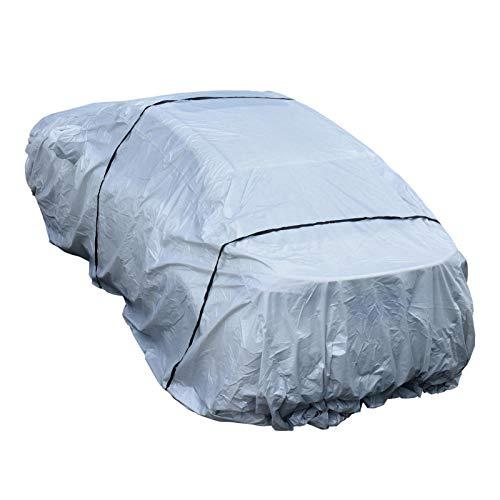 Cubierta Impermeable Para Automóvil, Para Todo Tipo De Clima Van Y SUV Cubiertas Completas Para Automóvil Transpirable Al Aire Libre Interior Para Impermeable A Prueba Viento Protección UV Resistente