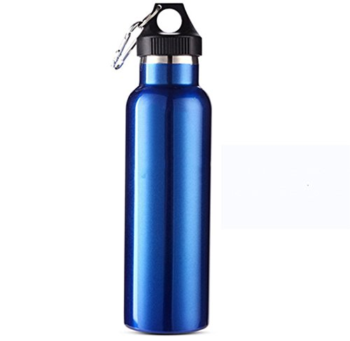 600 ml en acier inoxydable Bouteille d'eau d'hydratation sportives de plein air Cyclisme Voyage