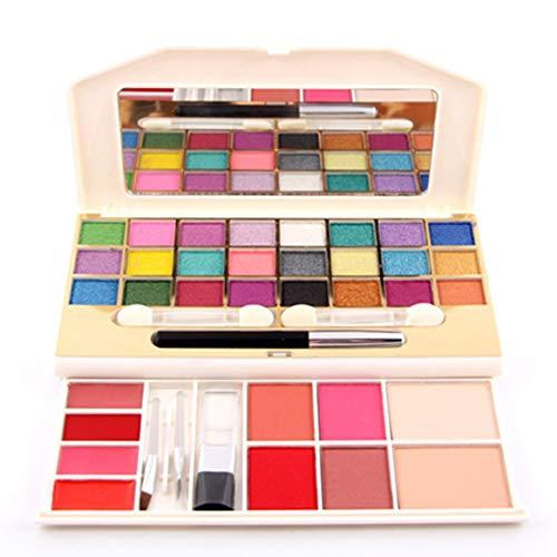 Kongqiabona-UK Nouveau 7002-008Y Coffret de Maquillage Multifonction Ombre à paupières + Rouge + Palette Anti-cernes Glitter Cosmetic Kit Shimmer Eyeshadow Pallete Universal