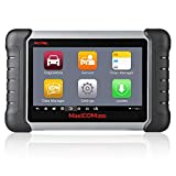 Autel Scanner Maxicom MK808 OBD2 Diagnostic Scan Tool with Full Systems Diagnoses & Oil Reset, EPB, BMS, SAS, DPF, TPMS Relearn for DIYers and Mechanics