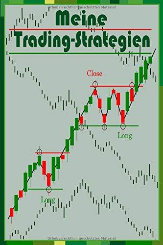 Notizbuch Meine Trading Strategien A5 120 Seiten kariert: Schreibblock Börse Trading Tagebuch für Akten Wertpapiere Daytrading Geschenk Geburtstag für Trader Geldanleger