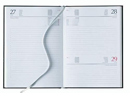 Ricambio agenda 17x24 giornaliera bianca 2021 AGENDEPOINT.IT copertina in cartoncino sabato e domenica unica pagina