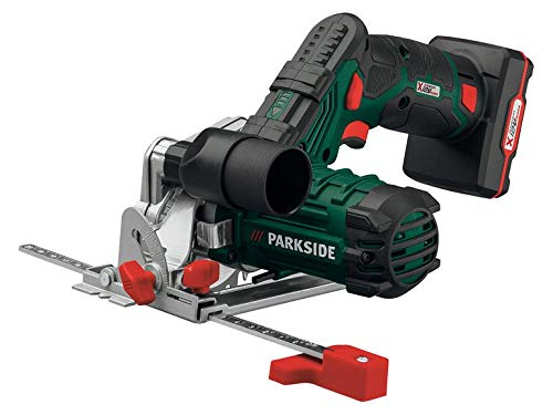 Parkside Akku Handkreissäge LED PHKSA 12 A2 Kreissäge SPINDLE LOCK Akku: 12-V-Lithium-Ionen (4 Ah)