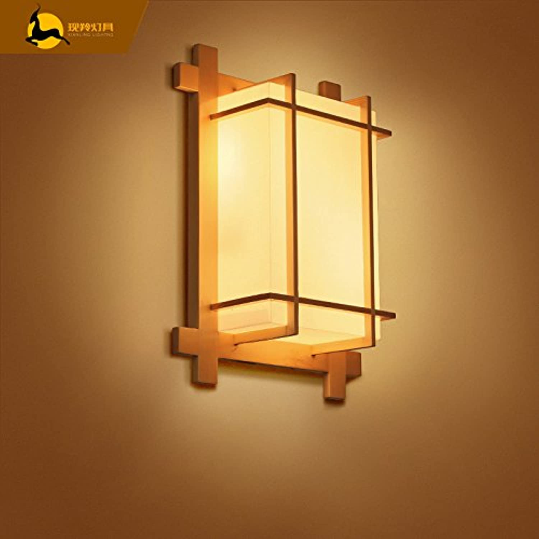StiefelU LED Wandleuchte nach oben und unten Wandleuchten Japanische light Wandleuchte Schlafzimmer über dem Bett, Balkon retro led Wandleuchte, dekorative Lampen, Wandleuchten