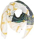 Camel Active Womenswear 307500 Pañuelo, Multicolor (Ecru Printed Khaki 30), única (Talla del Fabricante: OS) para Mujer