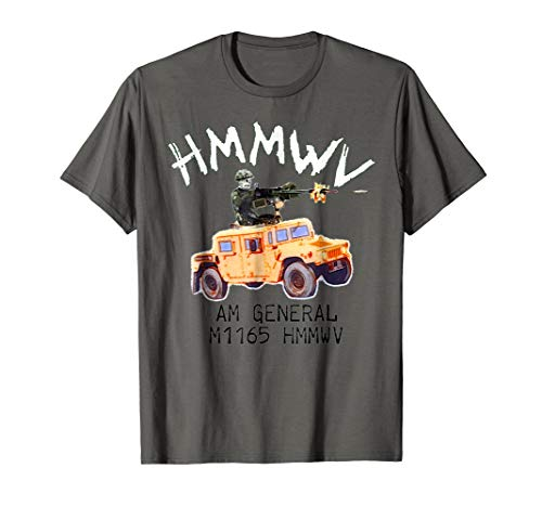 Combat Battle Assault vehicle Humvee t-shirt
