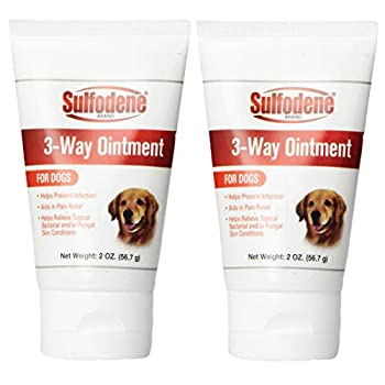 Sulfodene 3-Way Ointment for Dogs  2-Pack 4oz