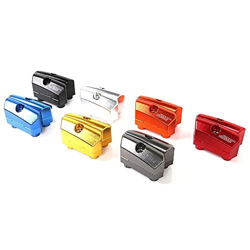 ZMMWDETapa de Bloques 3D, Cubierta Protectora Lateral de caída de Motocicleta, Protector antichoque, Accesorios de Aluminio CNC, para Kawasaki Z800 2014-2017 Naranja