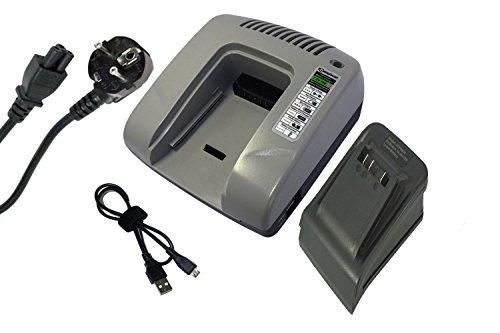 PowerSmart Cargador para Bosch AHS 48 LI, AHS 52 LI, ART 23 LI, ART 26 LI, PSB 18 LI-2, PSB 18 LI-2H, PSB 1800 LI-2, PSM 18 LI, PSR 14.4 LI, PSR 14.4 LI-2, PSR 18 LI-2, PSR 18 LI-2H, PST 18 LI