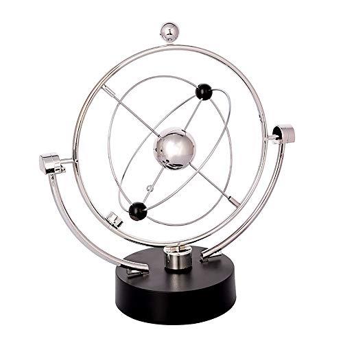 Educativo giratorio Globo, Spinner giratorio Globe Orbit - Kinetic Orbital Revolving Physics Science Gadget de juguete Ideal for todas las oficinas, enseñanza Desktop World Globe For Kids Impresiona a