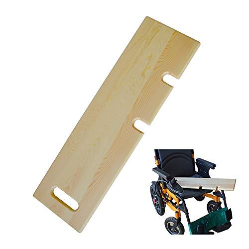 GHzzY Holztransferbrett - Langes Gleitbrett zum Übertragen von Patienten vom Rollstuhl auf Bett, Badewanne, Toilette und Auto - Transferbrett
