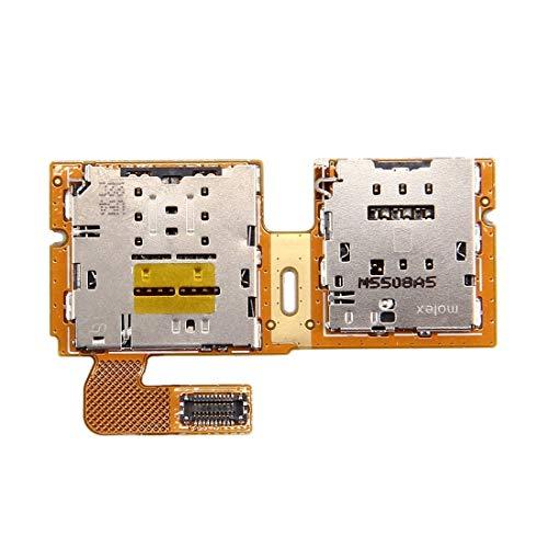 DOMINIC -Sim & Micro SD Lector de Tarjetas Contacto Cable Flex para Galaxy Tab S2 9.7 / T815 Bandeja