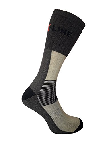 eXPANSIVE X-LINE SOCKS size UK 6-8 (EUR 39-42) 093/05/08 CoolMax BROWN BEIGE TREKKING HIKING by eXPANSIVE