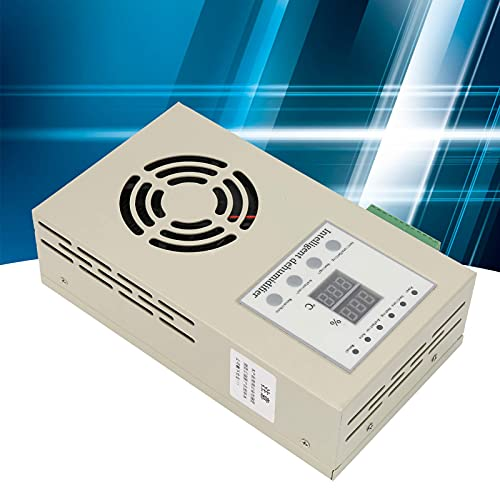 Nevup Deumidificatore in Acciaio Inossidabile, funzioni Complete di deumidificazione e a Prova di umidità, Deumidificatore Intelligente Silenzioso e a Risparmio energetico, Dimensioni: 210x120x55mm