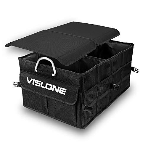 Organizador Coche Plegable Impermeable con Compartimentos