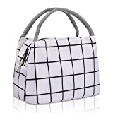 Portable Lunch Tote Bags for Women Men Waterproof Lunch Bag Reusable Lunch Tote Insulated Lunch Bag Cooler Bag for Work...