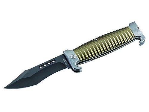 Herbertz AISI 420 Couteau à Main en Acier Noir Taille M