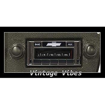 1973-1988 Chevrolet Pickup Truck Custom Autosound USA-230 AM//FM Stereo Radio 200 watts