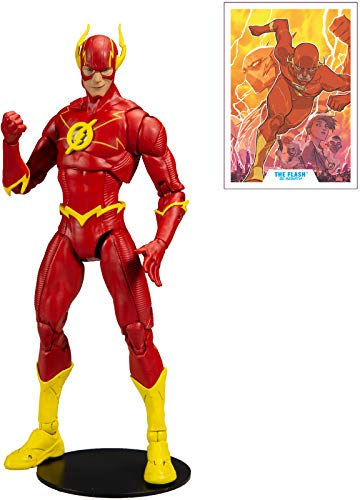 DC McFarlane Toys Multiverse The Flash Rebirth Action-Figur, Mehrfarbig (15126-8)