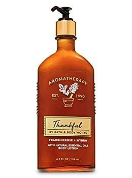 Bath and Body Works Aromatherapy Thankful Frankincense + Myrrh Body Lotion 6.5 fl oz
