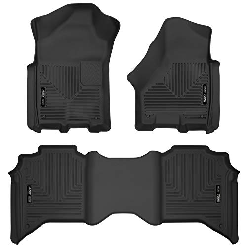 Husky Liners Fits 2019-20 Dodge Ram 2500 Crew Cab X-act Contour Front and 2nd Seat Floor Liners