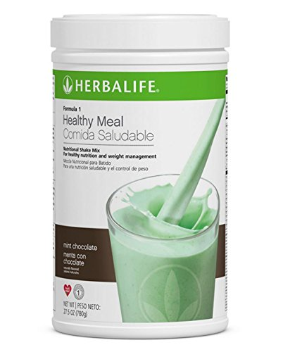 Herbalife Formula 1 Healthy Meal Nutritional Shake Mix (550 g) Mint Chocolate