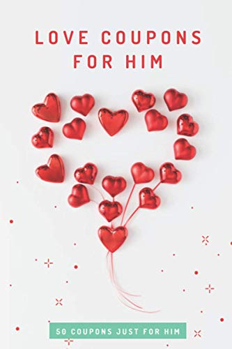 Love Coupons For Boyfriend: Valentines Day Gift For Her & Him | Coupon Book To Pamper Your Loved One & Spark Up The Relationship Again | Funny White Elephant Gag GIft