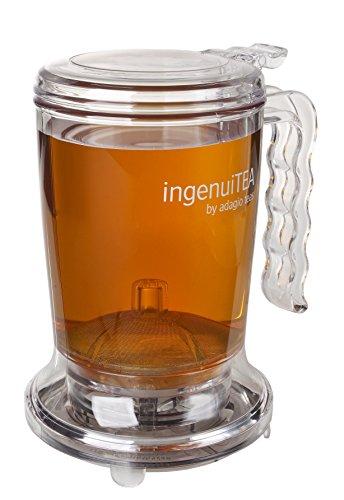 Adagio Teas ingenuiTEA Bottom-Dispensing Teapot,clear,16 oz