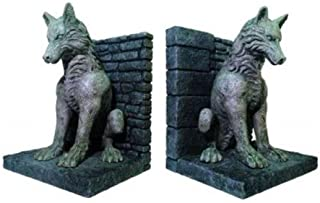 game of thrones stark direwolf statue