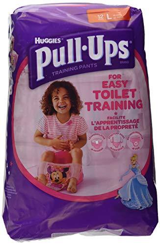 Huggies - Pull-Ups - Pañales - Talla L (16 - 23 kg) - 12 pañales
