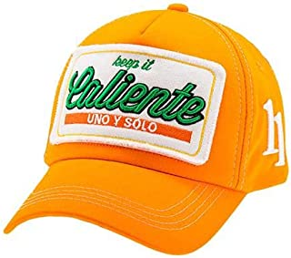 Caliente CLS009 Unisex Cap - M, Orange
