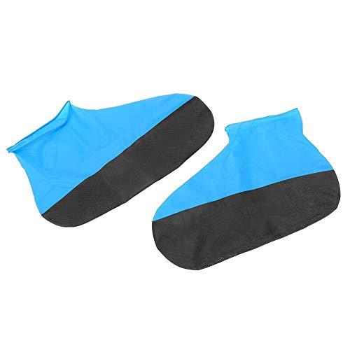 Tarente Elastische wasserdichte Schuh-Abdeckung Gummi Regen Überschuhe Schuhe Schutz (M)