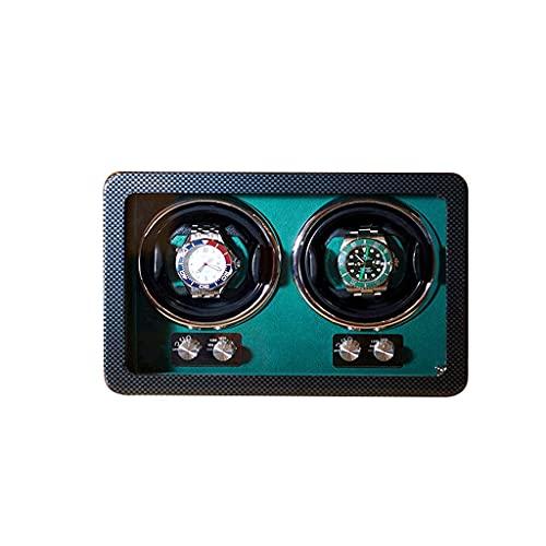 WBJLG Devanadera de Reloj Soporte de Reloj Caja de presentación Caja de devanadora de Reloj mecánica automática Agitador de Motor Regalo de Lujo