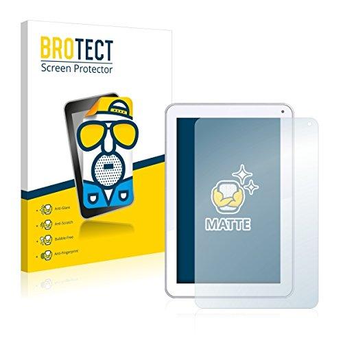 2X BROTECT Matt Bildschirmschutz Schutzfolie für Odys Neo Quad 10 (matt - entspiegelt, Kratzfest, schmutzabweisend)