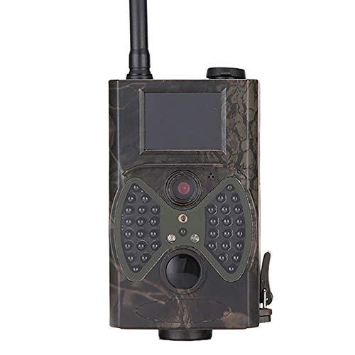 YCXYC 3G Wildkamera Fotofalle,MMS Bewegungsmelder Nachtsicht Infrarot 1080P 16MP Jagdkamera,Handyübertragung Beutekameras,Mit 2,0LCD-Display wasserdichte Überwachungskamera Mit 16G Speicherkarte