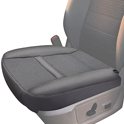Driver Side Bottom Cloth Seat Cover for 2006-2008 Ram 1500 2500 3500 SLT Left Front Seat Bottom Cushion Cover Factory Replacement-Gray