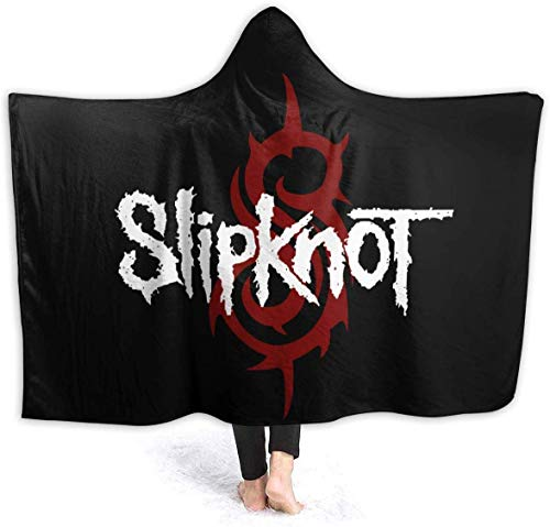 NR Slipknot Blanket Hooded, Flanell Blanket Sofa/Bettwäsche Komfortable und warme Decke80 x60